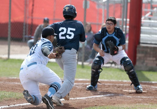 Coronado defeated Chapin Friday 2-0 in their SISD Baseball Tournament game Friday at Socorro High School.