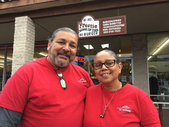 O-Hi Frostie owners Michael Luevano and Juanita Luevano plan to sell the diner-style restaurant and move to Bakersfield. The Ojai business' original burger-stand location was forced to close in 2006 to make way for a new development.