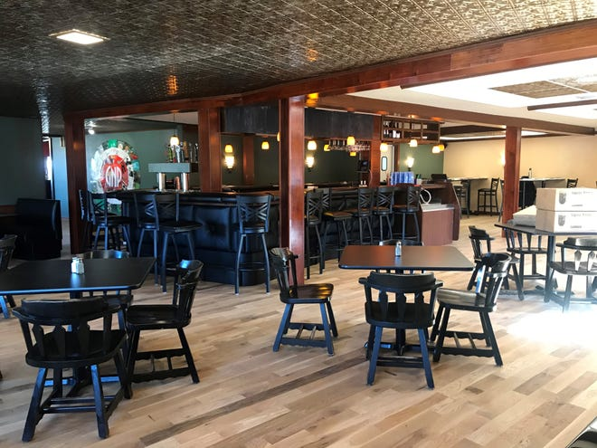 Glass Nickel Pizza in Rib Mountain is slated to open Monday, March 2, 2020. It is housed in the old Michael's Supper Club building. The dining room, pictured here, is where the lounge area was at Michael's.