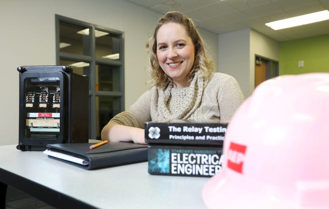 Colleen Konsavage is an assistant professor of electrical engineering technology at Zane State College. She is a registered engineer in the state of Ohio, and started her career with American Electric Power before joining Zane State last year.