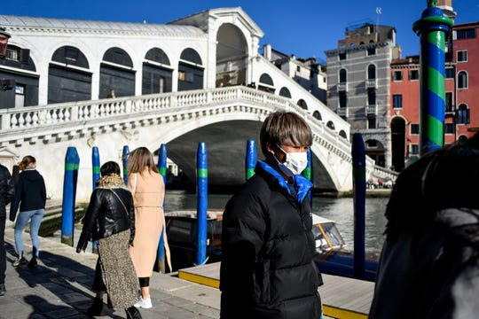 Venice, home to the Rialto Bridge, is located in one of the Italian regions hardest hit by coronavirus.