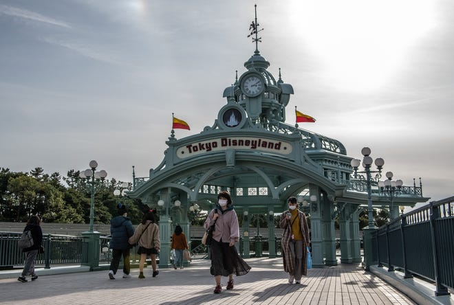 A month after Disney parks in Hong Kong and Shanghai shut down to prevent the spread of COVID-19, Tokyo Disneyland said it will close for two weeks.