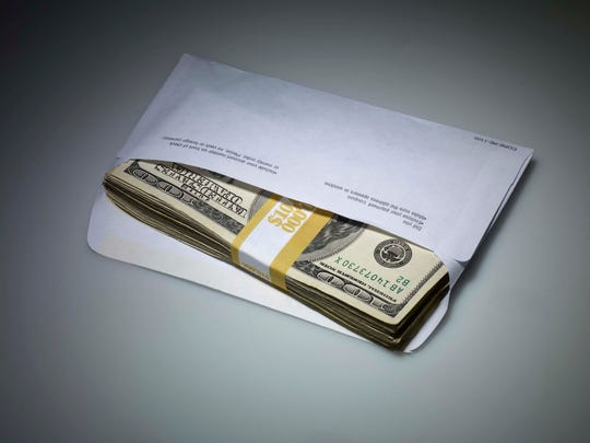 What does an envelope of money mean?