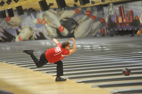 Bucyrus' Tod Spurlock was a district champion this year in bowling and made his second appearance at state.