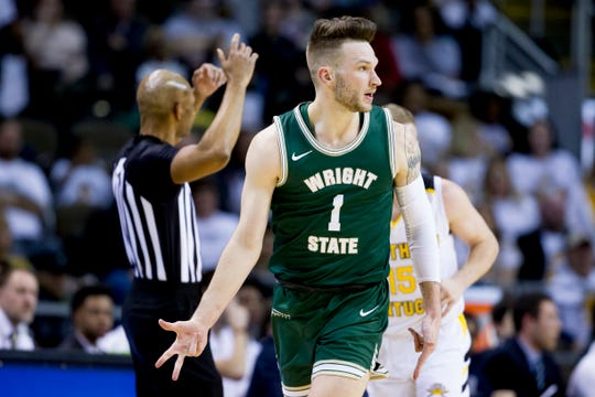 Bill Wampler, a graduate of Eau Claire Regis, is among Wright State's statistical leaders.