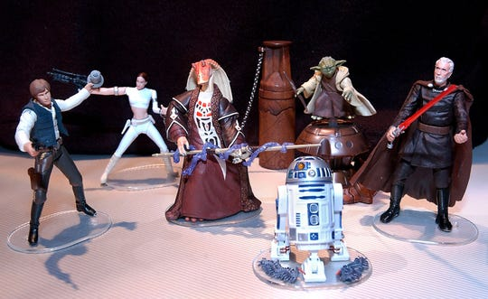 """""""Star Wars"""" memorabilia will be a hot item at Saturday's Toy, Comic and Book Show."""