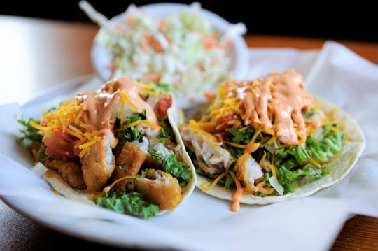 Fish tacos from Nellie's Restaurant in Newburgh.