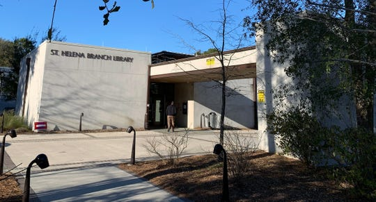 About 250 had voted by 4:45 p.m. Saturday, Feb. 29, 2020, during the Democratic Presidential Preference Primary at St. Helena Branch Library in Beaufort County.