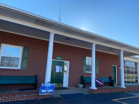 The West Pelzer polling place in Anderson County is quiet Saturday afternoon, Feb. 29, 2020, during the South Carolina Democratic Presidential Preference Primary.