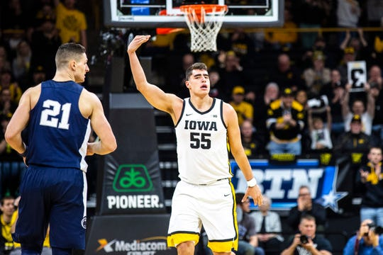 Luka Garza and the Hawkeyes can secure a double bye at the Big Ten Tournament with a 2-0 final week of the regular season.