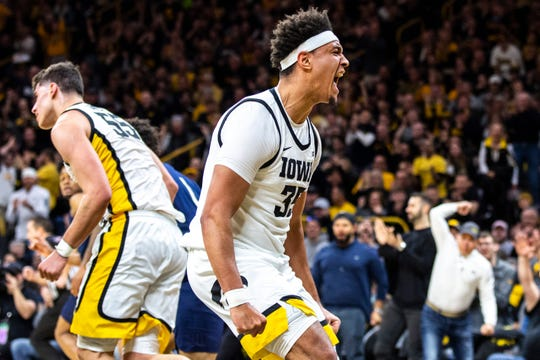 This Iowa team, including Cordell Pemsl, has delighted the home crowds this year with an infectious energy and outpouring of emotions.