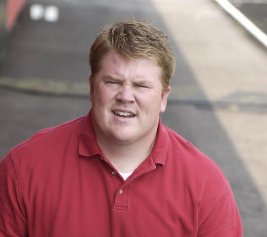 Coach Ryan Vermilion in 2004.