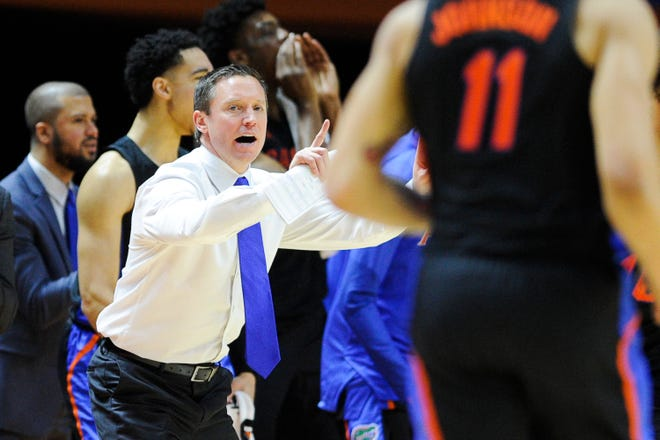 Florida men's basketball coach Mike White enters his sixth season in Gainesville looking to improve on last season's 19-12 (11-7 SEC) record before the coronavirus pandemic halted postseason play.