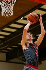 Will Lasater scored 18 points for West Lafayette in its sectional victory over Northwestern Wednesday night.