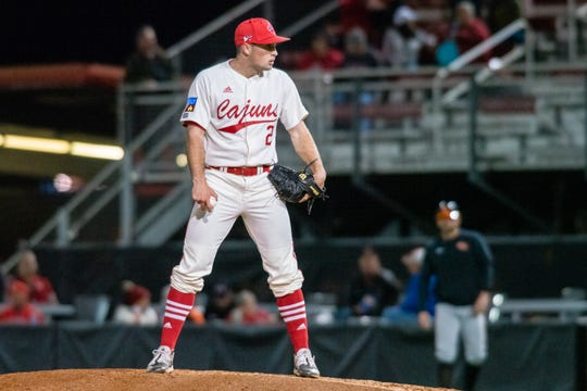 Reliever Connor Cooke and the Ragin' Cajuns lost 5-4 in 11 innings to Sam Houston State on Friday night at The Tigue.
