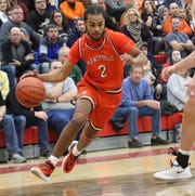 Mansfield Senior's Roger Merrell III nearly helped the Tygers pull off an upset over No. 1 seed Upper Sandusky.