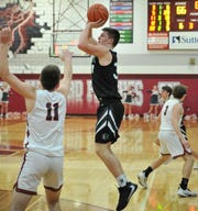 Clear Fork senior Ethan Delaney had a team-high 26 points for the Colts in Friday's sectional championship loss to Shelby