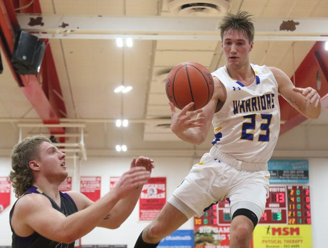 Ontario's Griffin Shaver was named first team All-Northwest District for the 2019-20 season in Division II.