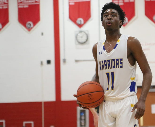 Ontario's Shaquan Coburn led the Warriors to a win over Lexington with 27 points on his 18th birthday.