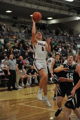 Shelby's TJ Pugh had a game-high 28 points in Friday's sectional title win over Clear Fork