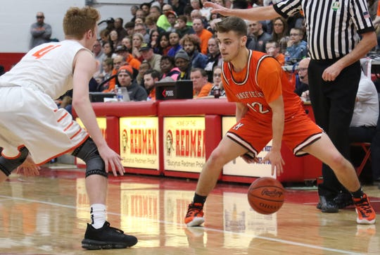 Mansfield Senior's Shad Creamer led the Tygers with 20 points in a double-overtime loss to Upper Sandusky on Friday night.