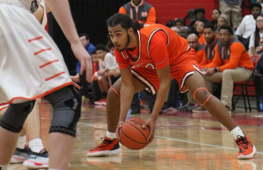 Mansfield Senior's Roger Merrell III played his final game as a Tygers in a double-overtime loss to Upper Sandusky on Friday night.