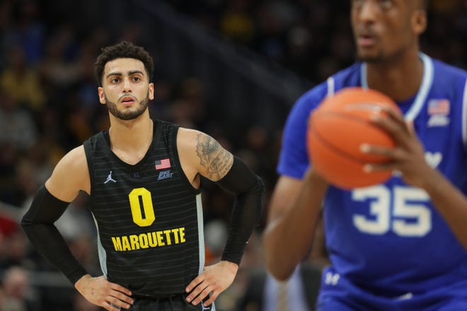 Marquette's Markus Howard will be looking to sign with a NBA team as a undrafted free agent.