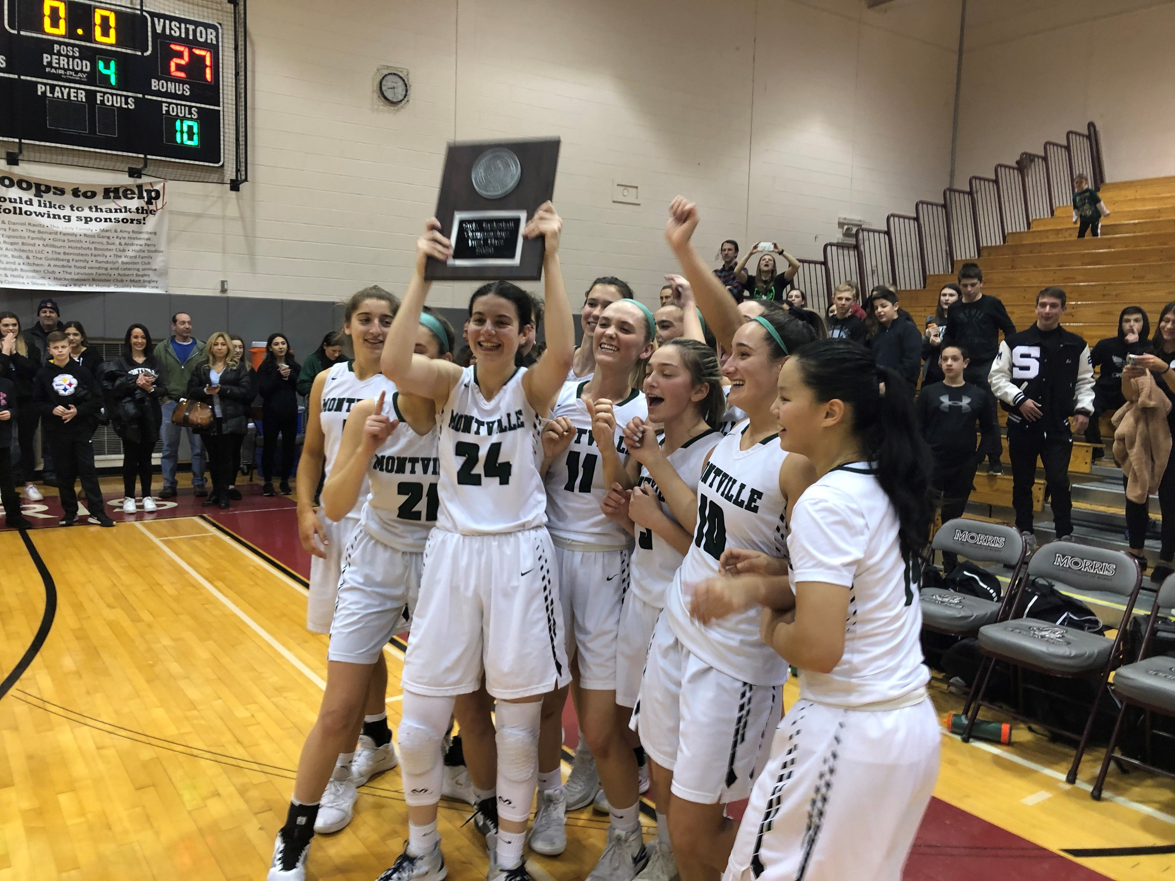 Montville defeated Chatham to earn its first Morris County Tournament title