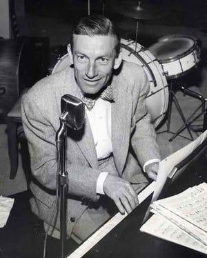 Hoagy Carmichael at Thunderbird c. 1954.