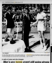 In 1987, the BNP Paribas Open was known as the Pilot Pen Classic.
