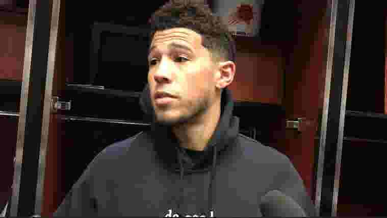 Phoenix Suns: Devin Booker explains his side of final shot in loss to Detroit