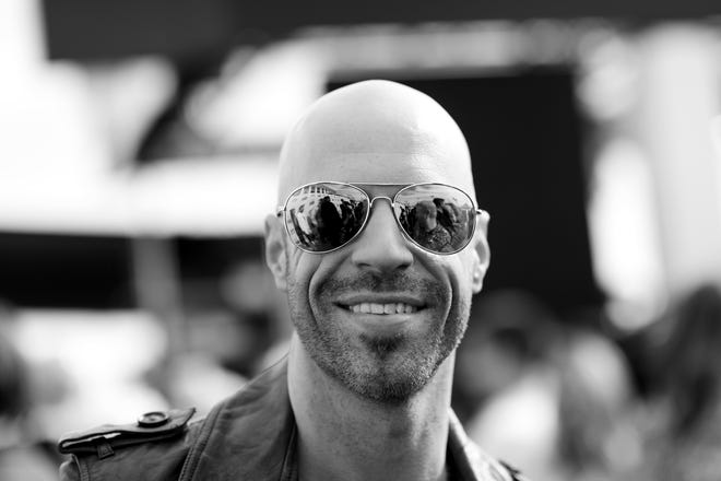 Chris Daughtry attends the iHeartRadio Music Awards at The Forum on April 3, 2016 in Inglewood, California.
