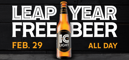 Leap Day beer promo