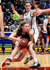 Central York's Sarah Berman, left, is the Panthers' leading scorer. Central faces Central Bucks East on Tuesday in a PIAA Class 6-A contest.