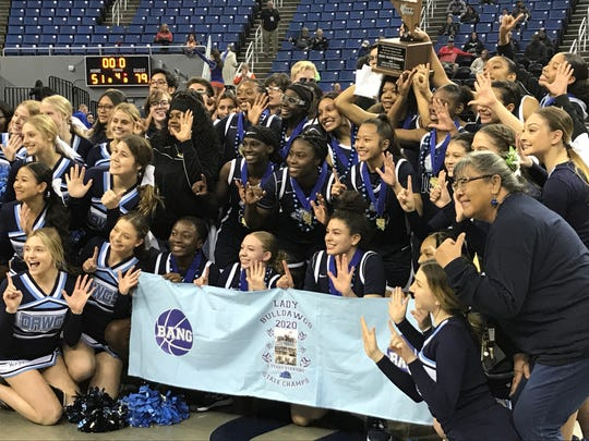 Centennial won its sixth straight state 4A girls basketball title on Friday.