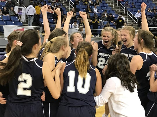Virginia City won the girls basketball 1A state championship on Friday.