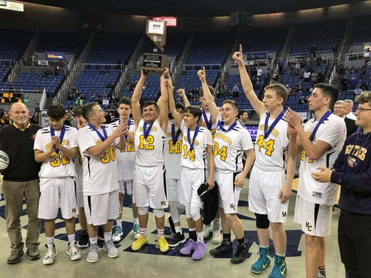 Mineral County won its second straight 1A boys state basketball championship on Friday.