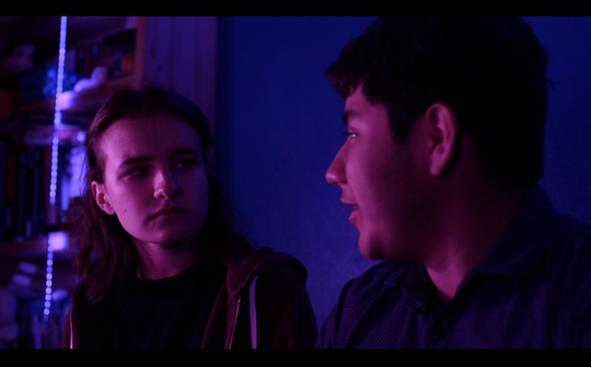 "A still from Braeden Olheiser's short film, ""Tandem Thoughts."""