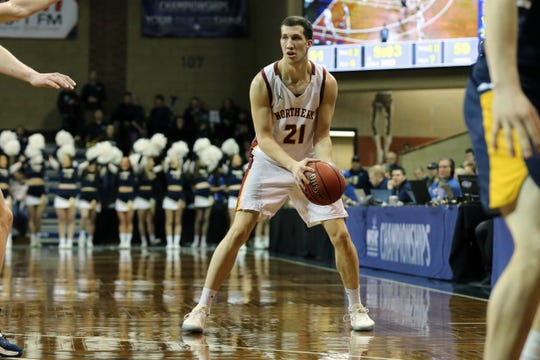 Gabe King had 22 points, 20 in the second half, to lead Northern State past Augustana on Saturday at the Pentagon.