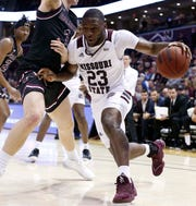 Missouri State against Southern Illinois at JQH Arena on Feb, 29, 2020.