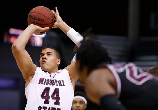 Missouri State against Southern Illinois at JQH Arena on Feb. 29, 2020.