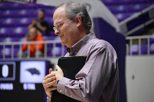 Cedar Coach Corry Nielsen.