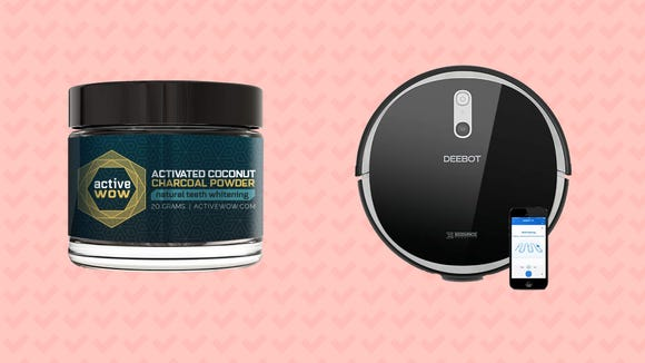This weekend, save on smart robot vacuums, charcoal tooth whitening powder, and more.