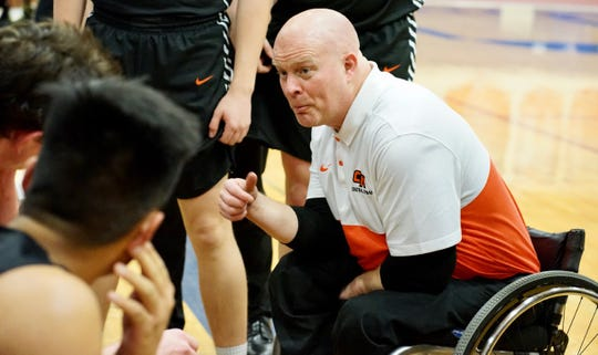Central Kitsap boys basketball coach Scott McMinds and the Cougars will play Marysville-Pilchuck in the Class 3A state tournament at the Tacoma Dome on Wednesday at 9 a.m.