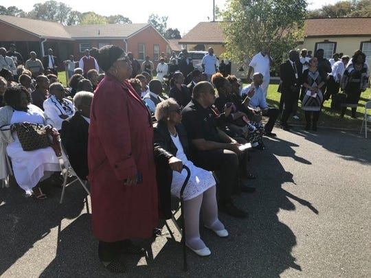 Over 100 people gathered to celebrate the life and work of Pastor Melvin Chatman at a street renaming ceremony.