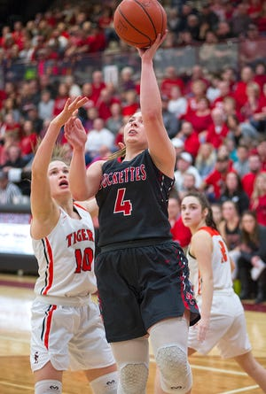 Claudia Pifher saw her role increase to lead scorer this season for Buckeye Central.