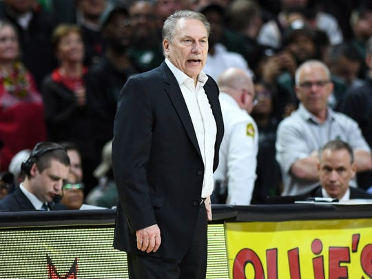 Tom Izzo has been head coach at Michigan State since 1995.