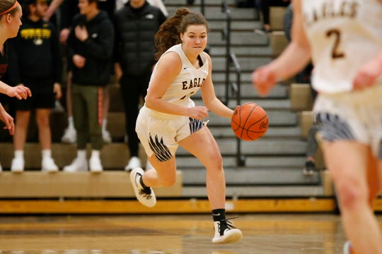 Leah Lappin and Hartland are No. 4 in the state and No. 1 in the North in the final Detroit News rankings.
