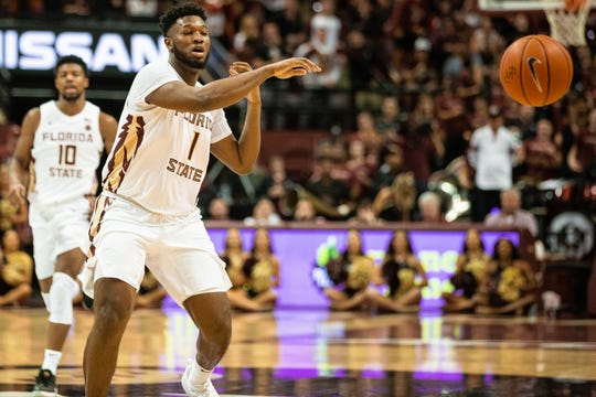 FSU had a lead as large as 10 points in Saturday's game against Clemson.