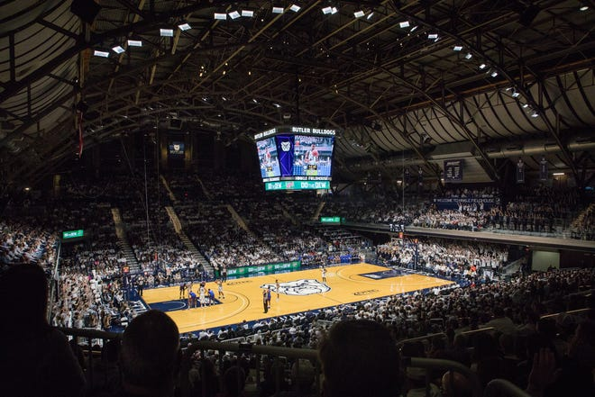 Butler has not announced what seating capacity will be allowed for games at Hinkle Fieldhouse this season.